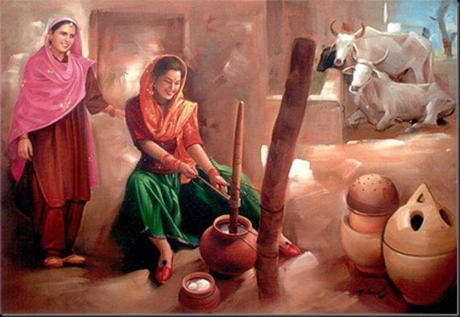 Old Punjabi Culture