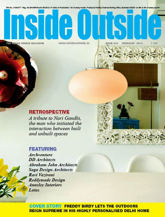 Inside Outside Magazine Editors Letter On Whats New In