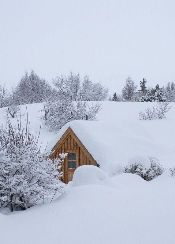Winter in Akureyri, Iceland