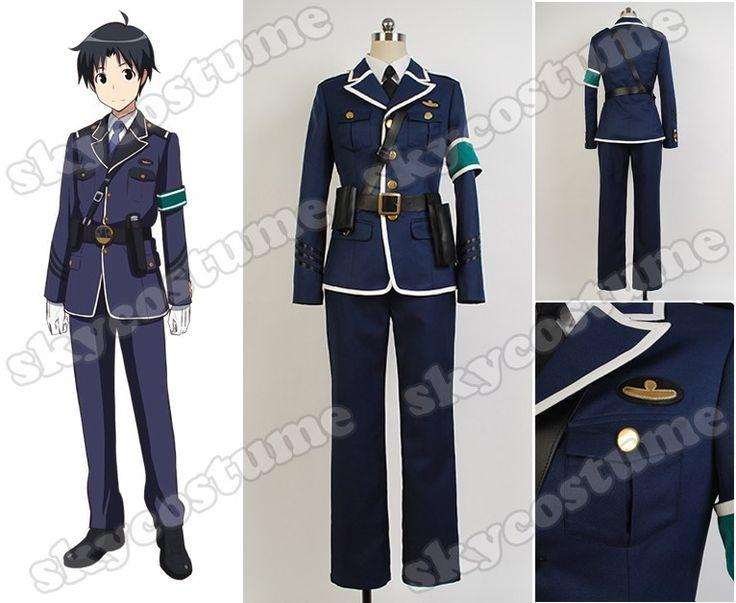 RAIL WARS! Naoto Takayama Uniform Cosplay Costume from  RAIL WARS!