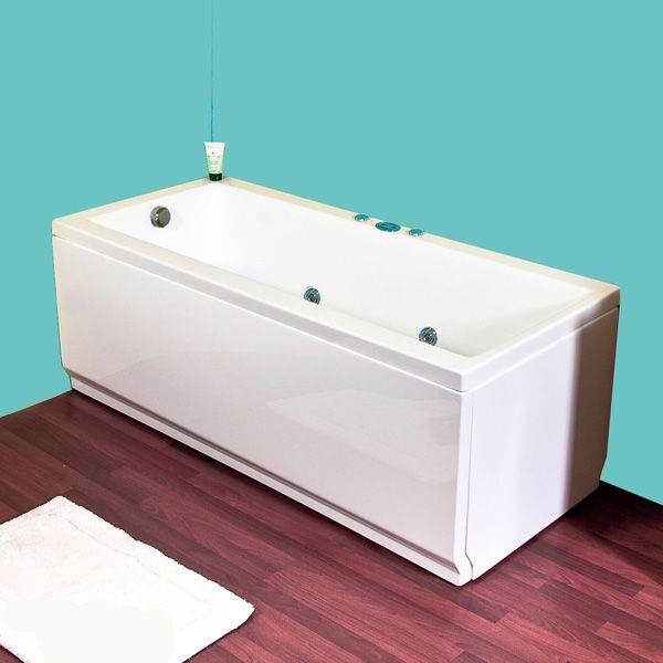 Vivera Capri 150 -Firkantet badekar.http://www.spacenteret.dk/product/vivera-capri-150-firkantet-badekar-1272/