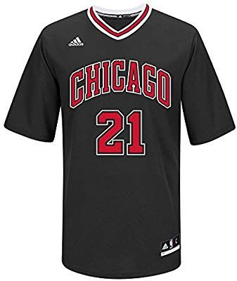 28e6c11c0 Amazon.com   NBA Men s Chicago Bulls Jimmy Butler Replica Player Road Jersey