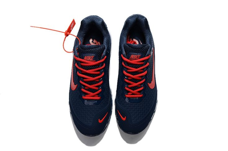 Nike Air Max 2017.8 Running Men Shoes Navy Red