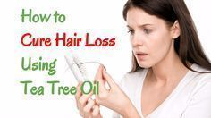 Tea tree oil for hair loss remedy is natural, effective and cheap! Are you loosing your hair, day in day out? Find out how to cure yourself now.