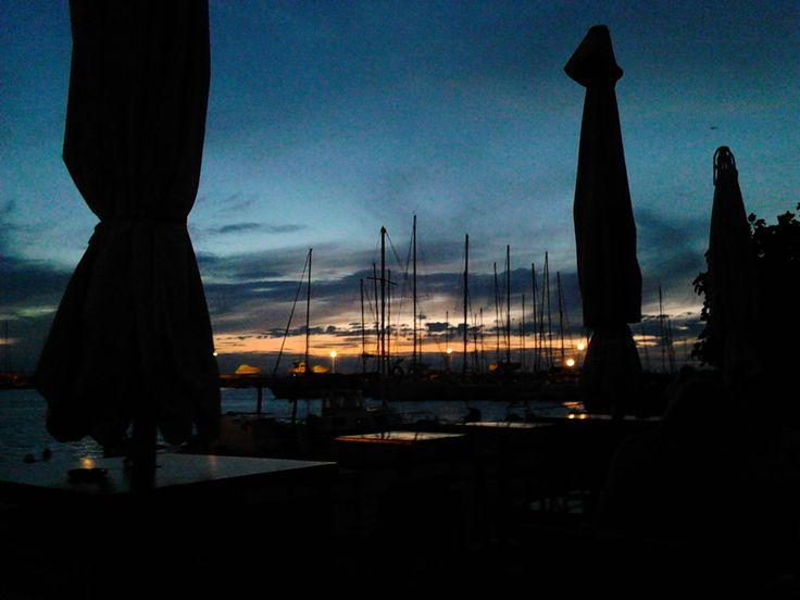 sunset at Krini..