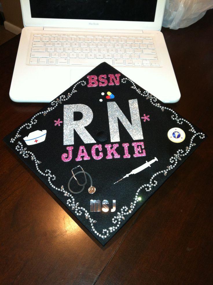 28 best ideas about Nursing graduation cap on Pinterest ...