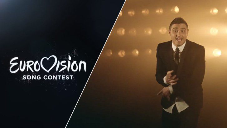 """Pin for Later: Listen to Every Single Song From the 2015 Eurovision Song Contest Israel Nadav Guedj — """"Golden Boy"""""""