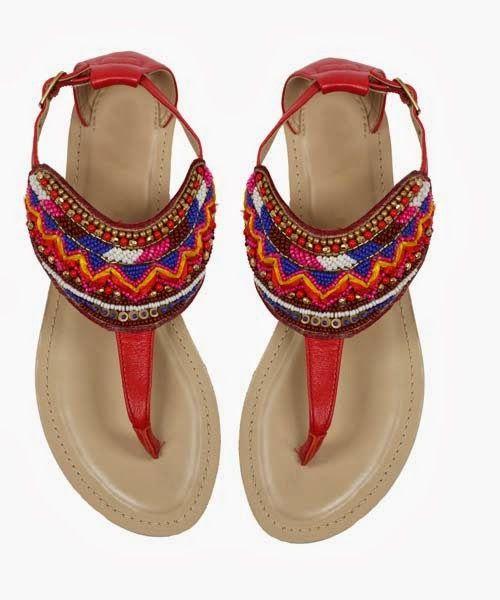 Catálogo Primark online: sandalias rojas 15