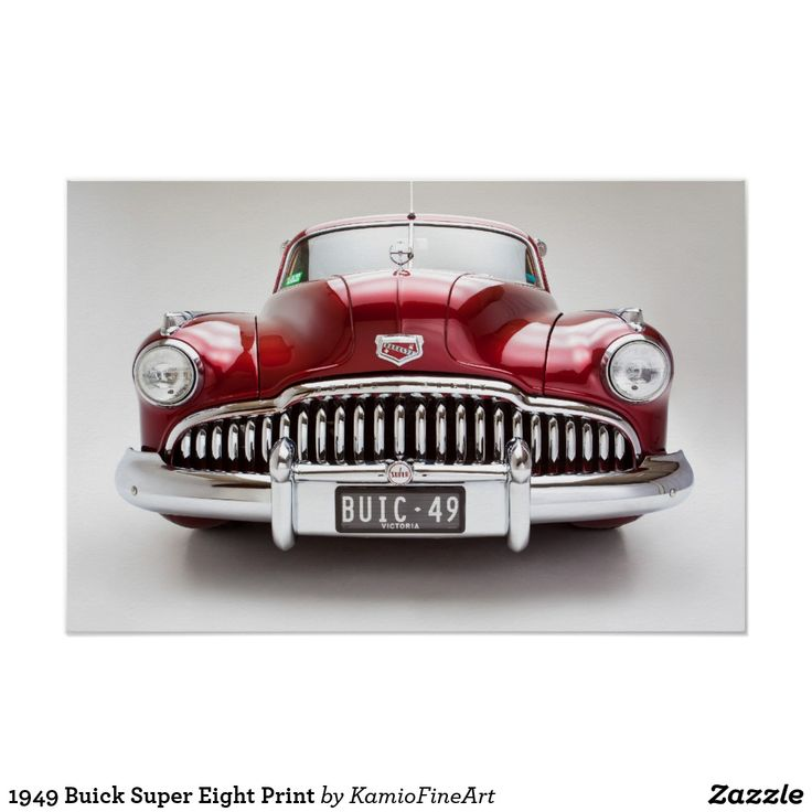 1949 Buick Super Custom Review: 1949 Buick Super Eight Print