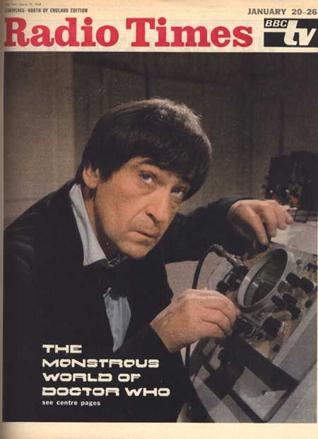 Patrick Troughton, the second Doctor. He was endearingly scruffy.