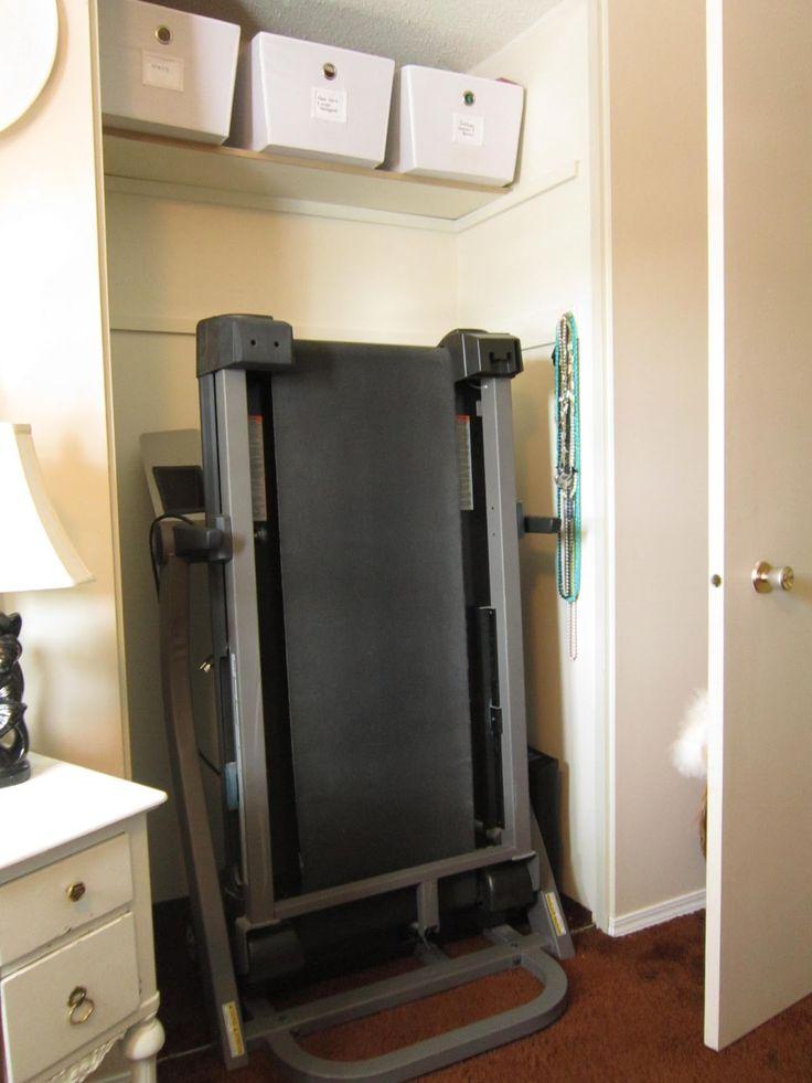 treadmill - hide it!   Living room decor, Closet office ...