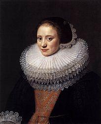 Michiel Jansz. van Mierevelt (Dutch, 1567-1641) ~ Portrait de Femme ~ 1625 ~ Michiel Janszoon van Mierevelt, often abbreviated as Michiel Jansz. and the surname also spelled Miereveld or Miereveldt, was a Dutch Golden Age painter and draftsman.