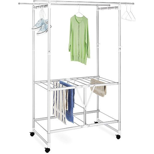 Walmart Clothes Hanger Rack Entrancing 20 Best Laundry Drying Images On Pinterest  Laundry Room Clothes Decorating Design