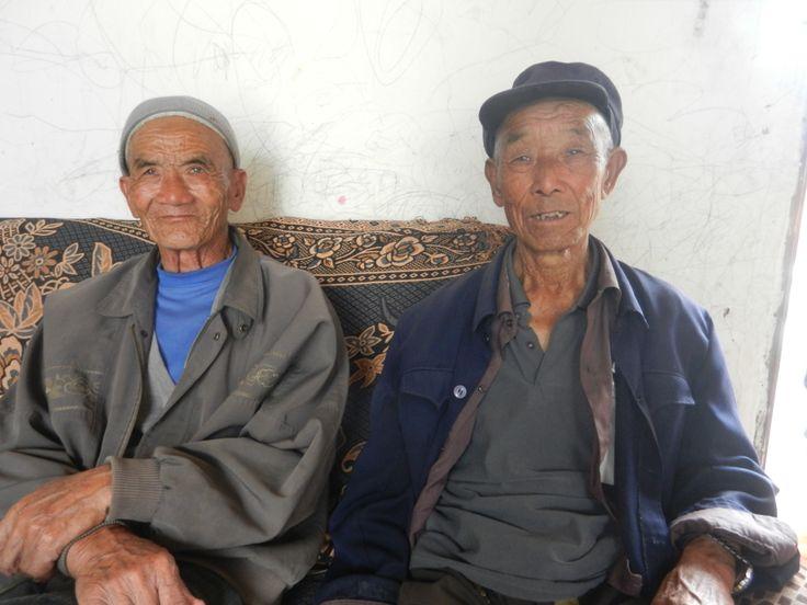 Friendly locals in a Muslim village in Yunnan, China