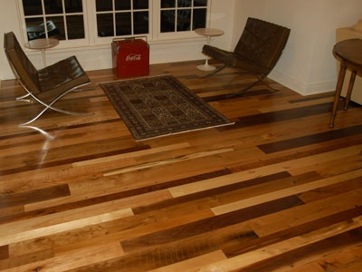 wide plank tiger wood the mix of woods is so warm and inviting hers reclaimed wood floorstypes