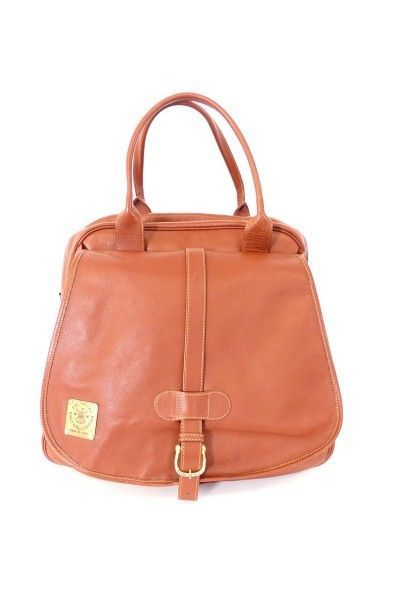 THE ROYAL GOLF COLLECTION LEDER REISE TASCHE BAG braun - LUXUS! /AW100