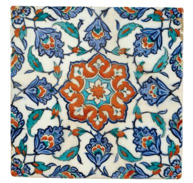 An Iznik Polychrome Tile, Turkey, circa 1580 | Lot | Sotheby's