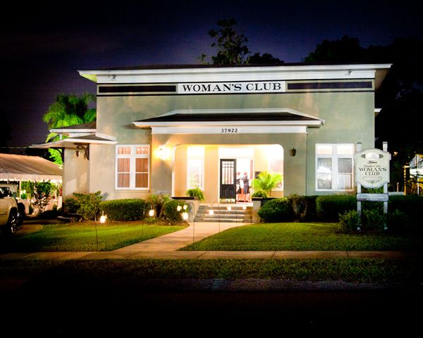 A Charming Location For Your Wedding The Dade City Womans Club