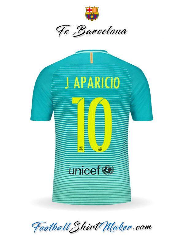 Camiseta FC Barcelona 2016/2017 Tercero J aparicio 10