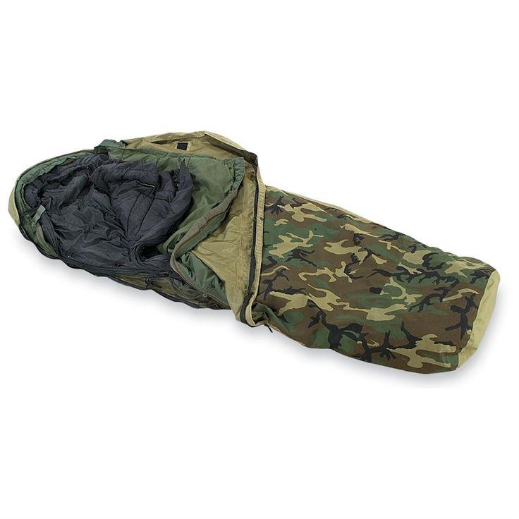 U.S. Military Surplus 3-Pc. ECWS Mummy-style Sleep System