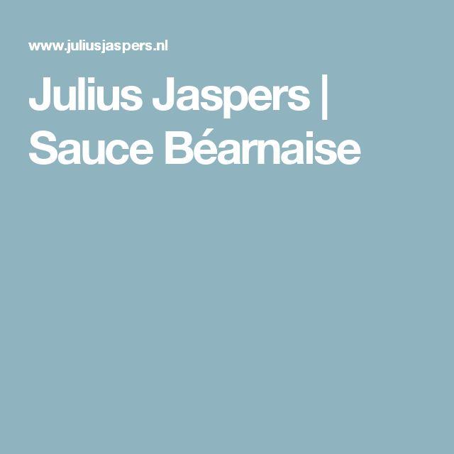 Julius Jaspers     Sauce Béarnaise