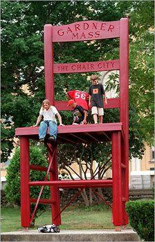 Gardner, MA: New Englandu0027s Biggest Chair