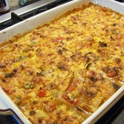 a few additions that I think sound appealing.. <<<  King Ranch Chicken Casserole  Allrecipes.com