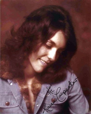 Singer Karen Carpenter died from Anorexia Nervosa in 1983. Her death was tragic and unexpected- at the time, she was believed to have been recovered from the illness-her death brought more attention to the seriousness of Anorexia and eating disorders