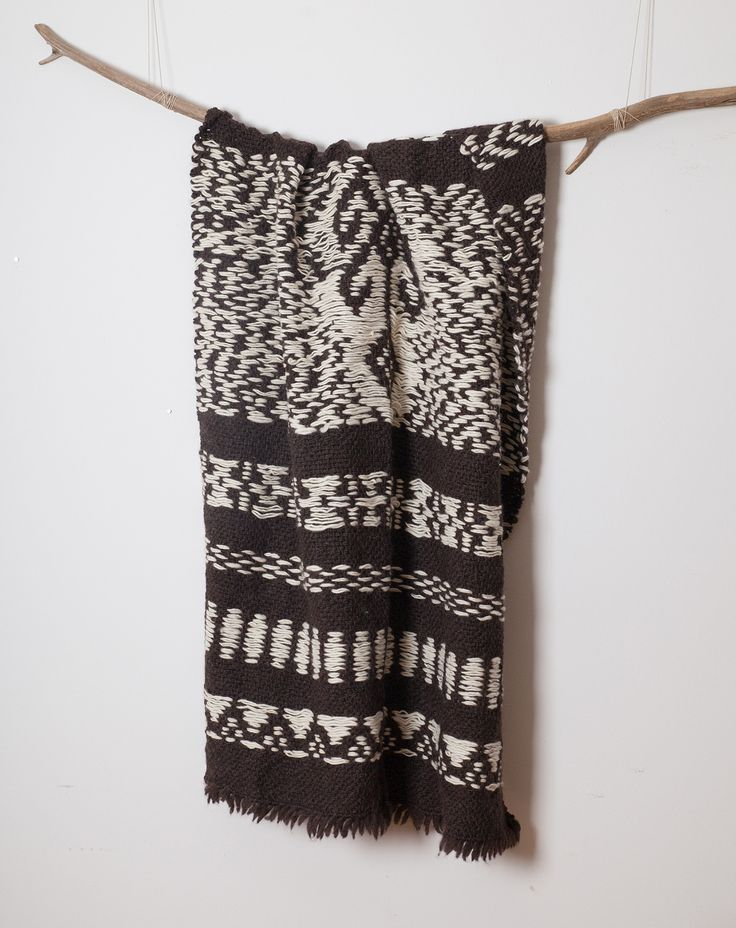 Telar by Nido Mapuche Blanket