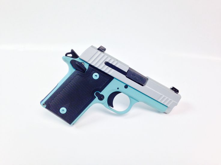Say hello to the Sig Sauer P938 in Tiffany Blue and Stainless Steel.  This is the first Sig Sauer P938 we have coated in this scheme...and it is for sale in the shop!  $599 takes this home!