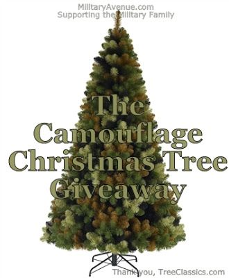 The Camouflage Tree - Perfect for the military family