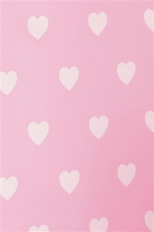 Ellie's Polka Hearts Wallpaper from the Next UK online shop