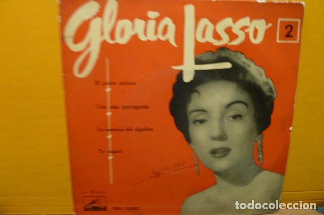 GLORIA LASSO - EL POBRE ARRIERO -Y 3 MAS (Música - Discos de Vinilo - EPs - Solistas Españoles de los 50 y 60)