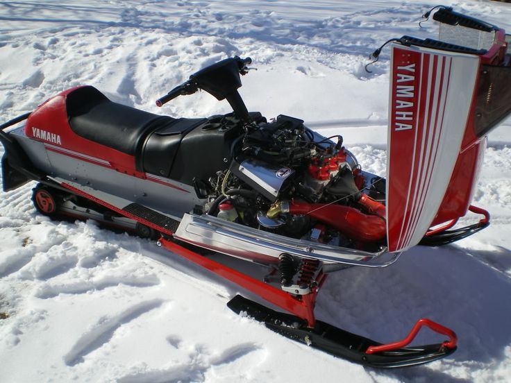 Yamaha  Triple Snowmobile