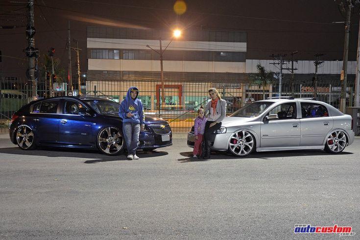 Chevrolet Astra Advantage 2010, no comando da Amanda Dantas, da cidade de Carapicuíba SP. O carro já foi do seu marido, mas com um projeto diferente, depoi