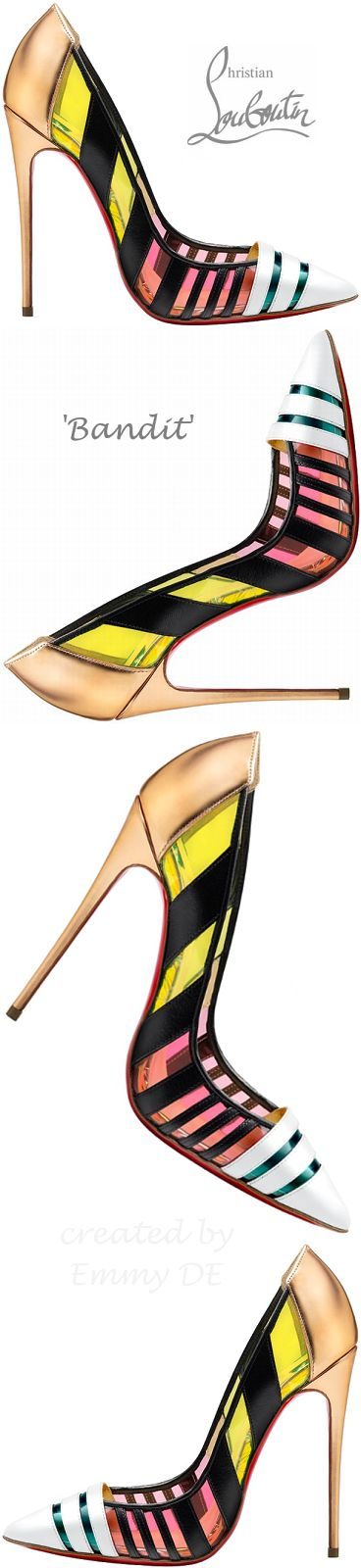 Brilliant Luxury by Emmy DE * Christian Louboutin 'Bandy' Spring 2015  | ko-te.com by @evatornado
