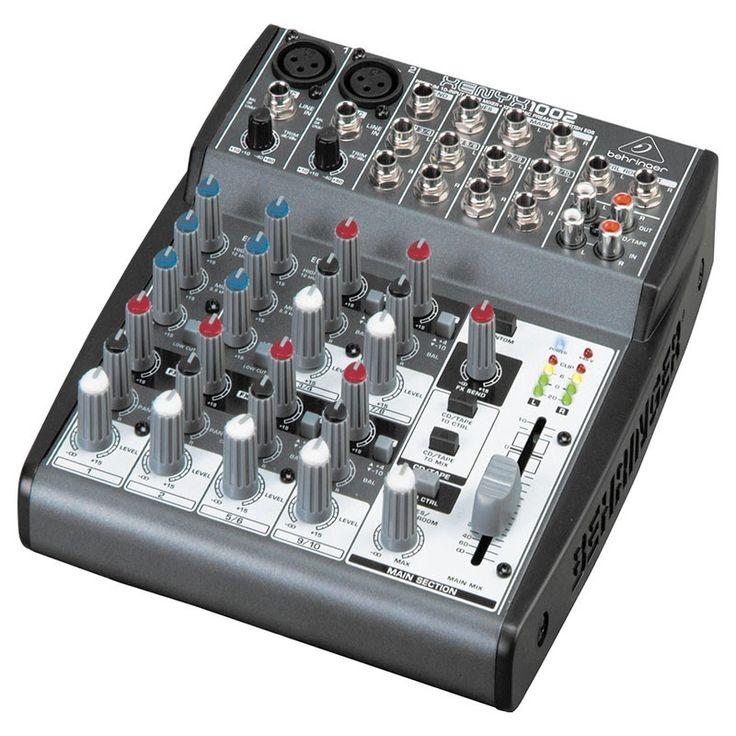 Consola XENYX-1002, Behringer tan solo $240.000.