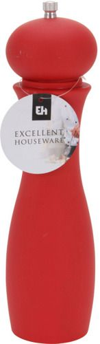 Kolorowy młynek do pieprzu, soli, pieprzu - ręczny, Excellent Houseware.  Estetyczny design i wyjątkowo łatwa obsługa tego młynka sprawią, że przygotowywanie posiłków będzie przyjemniejsze ;)