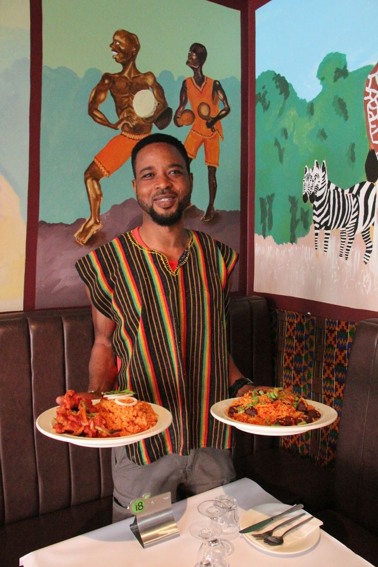 Hudu blew us away with his Ghanaian cuisine and traditional home made ginger beer.