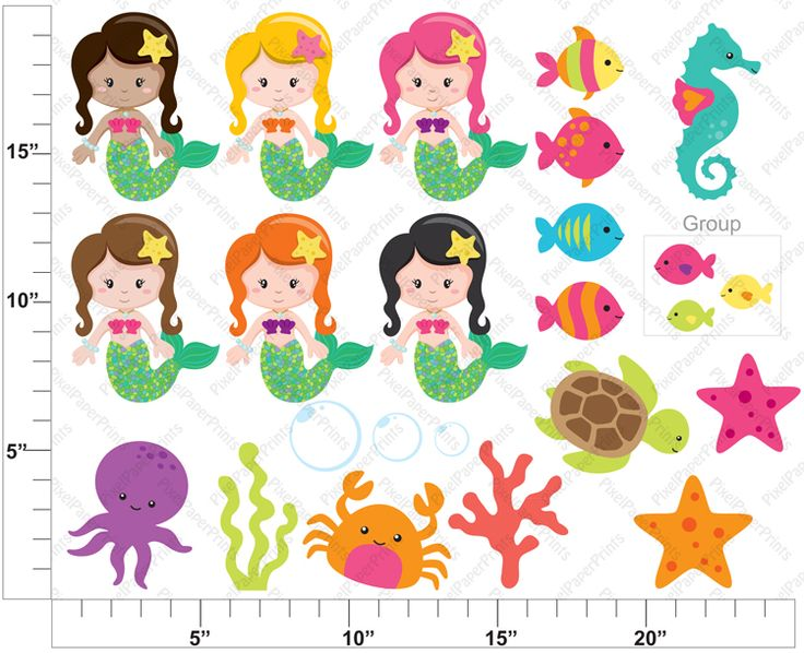 mermaid clipart free download - photo #50