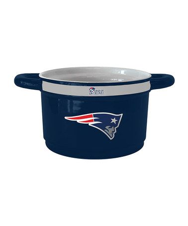Take a look at this New England Patriots Game Time Bowl by Boelter Brands on #zulily today!