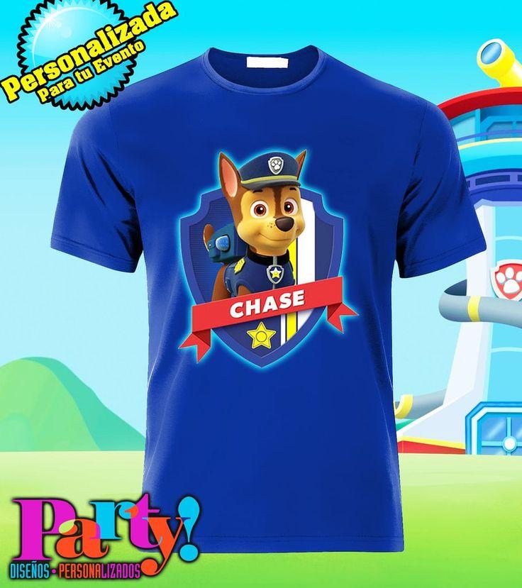 Playera Personalizada Paw Patrol - Jinx, playera, fiesta, personalizada, evento, ropa, camiseta, cumpleaños, programa, niños, trajes