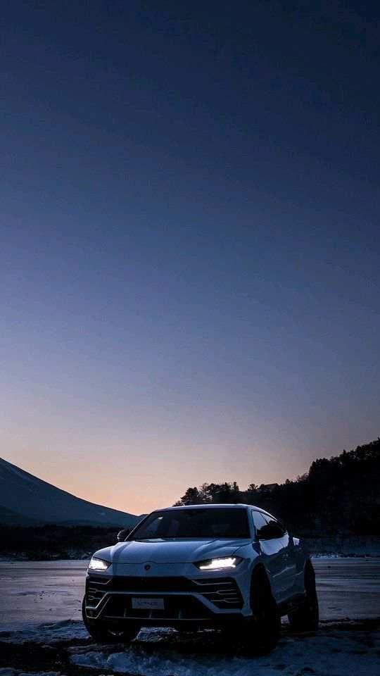 Lamborghini Urus Mount Fuji Japan Wallpaper Phone Wallpapers