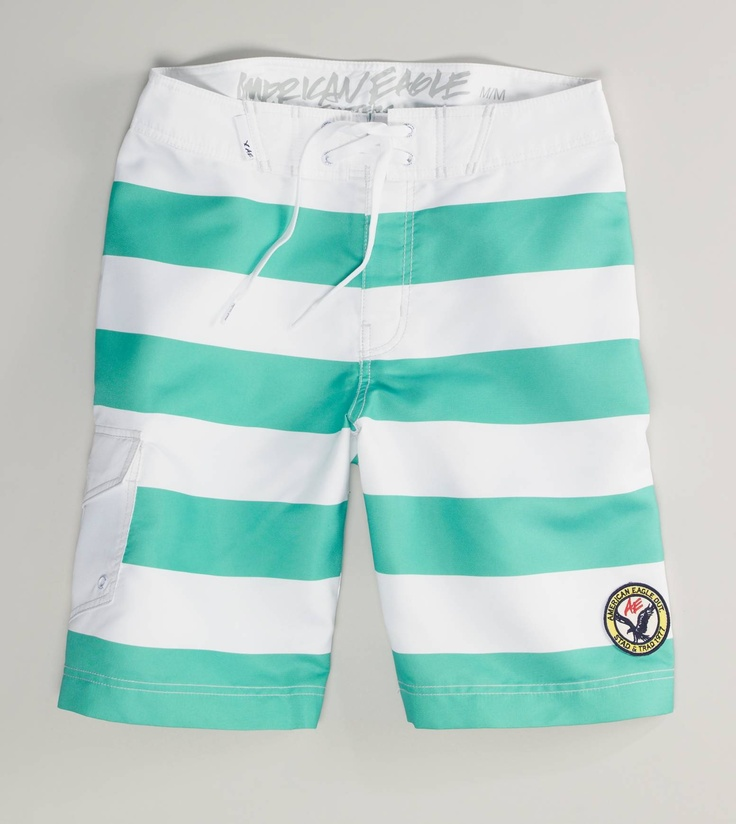 board shortsAe Stripes, Bath Trunks, Bathing Suits, Day Outfit, Men Fashion, Swimming Shorts, Bath Suits, Boards Shorts, Stripes Boards