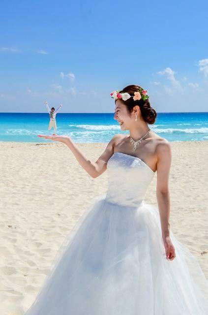 カリブ海っ!ウエディングフォト - Wedding**DELI**Cancun
