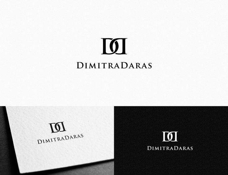 Logo Design by creativecorner for Dimitra Daras #monogram #logo #design #DesignCrowd