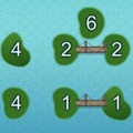 In this game there will be a number of islands, each island has a number on it. You need to connect the islands with bridges so that all the islands are connected to each other and that the number of bridges coming out from an island matches the number written on it. The bridges cannot cross and there can be at most two bridges connecting two islands. Use the mouse to click the island or the space between two islands to create a bridge. http://www.itsgamestime.com/puzzle/bridges.html