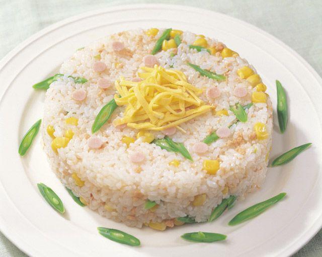 ケーキ風ちらし寿司