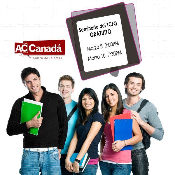 Seminario y simulación gratuita del TCFQ en Bogotá.  Próximas fechas: Sábado 8 de marzo a las 8:00 AM Lunes 10 de marzo a las 7:30 PM  Lugar: Calle 121 #6-46 Oficina 119 Bogotá, Colombia  La fecha del examen está cerca, ¡prepárate!  Inscripción: http://190.144.31.94/acsolutions/jobs/publicregistro/RFloRzkzYjBxeUpmSXhmczJndVZvVXViV3d2bmlSMkcwRmdhQzltYXNkYXNkaQ==:7685934234309657453542496749683645/Y2FtcGFpbg==:29/a2V5Zm9ybQ==:RFloRzkzYjBxeUpmSXhmczJndVZvVXViV3d2bmlSMkcwRmdhQzltYXNkYXNkaQ==