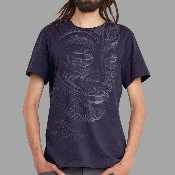 Psychedelic Buddha Shirt Spiritual Clothing Buddhism by symbolika